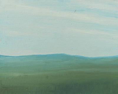 Dagrar Over Salenfjallen- Shifting Daylight Over Distant Horizon 4 Of 10_0029 51x40 Cm Poster