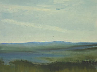 Dagrar Over Salenfjallen- Shifting Daylight Over Distant Horizon 6 Of 10 Poster