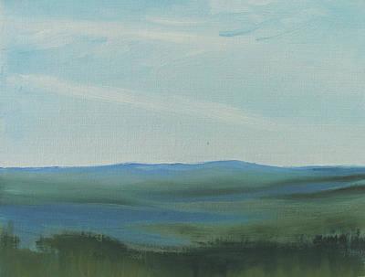 Dagrar Over Salenfjallen- Shifting Daylight Over Distant Horizon 6a Of 10_0027 50x40 Cm Poster