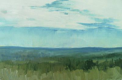 Dagrar Over Salenfjallen- Shifting Daylight Over Distant Horizon 7 Of 10_0029 Poster