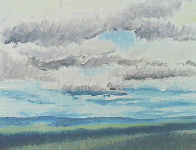 Dagrar Over Salenfjallen- Shifting Daylight Over Distant Horizon 8 Of 10_0029 Poster