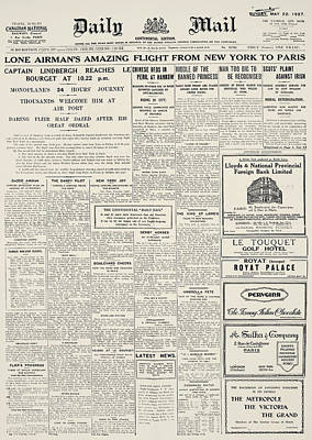 Daily Mail, 1927 Poster