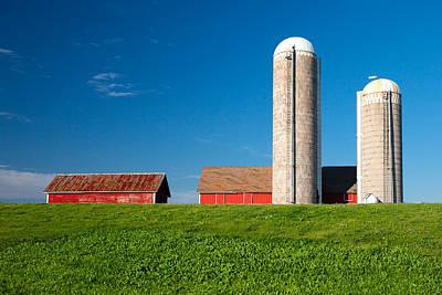 Dairy Farm Poster by Todd Klassy