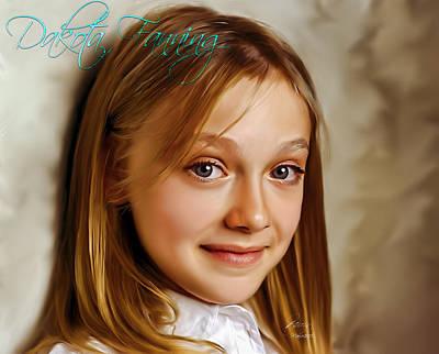 Dakota Fanning Poster