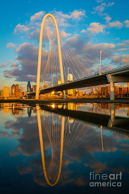 Dallas Afternoon Clouds Poster by Inge Johnsson