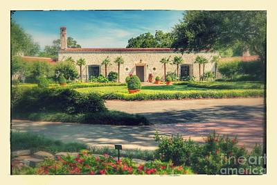 Dallas Arboretum And Botanical Garden - Old Style Poster