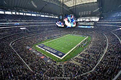 Dallas Cowboys Att Stadium Poster by Mark Whitt