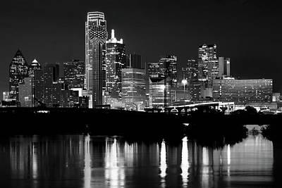 Dallas Nights Bw 6816 Poster