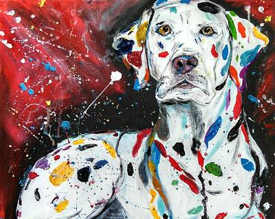 Dalmatian Poster by Jessica  Barrier