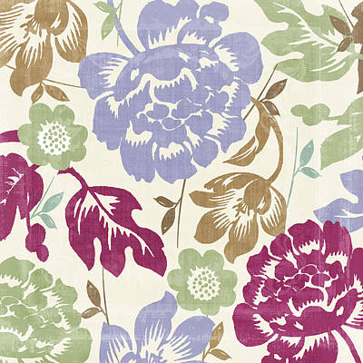Damask Forest Poster