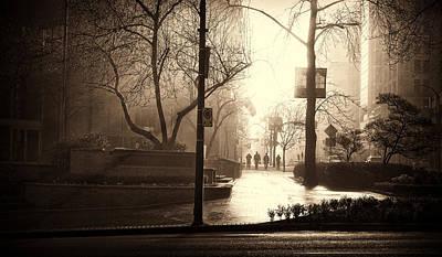 Damp Dawn Poster