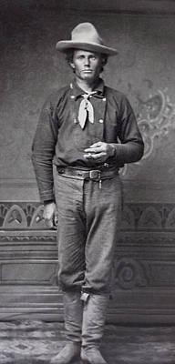 Dan Dedrick - Billy The Kid's Best Friend  C. 1877 Poster by Daniel Hagerman