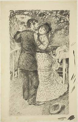 Dance In The Country Poster by Auguste Renoir