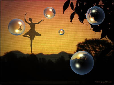 Dance Of A New Day Poster by Joyce Dickens