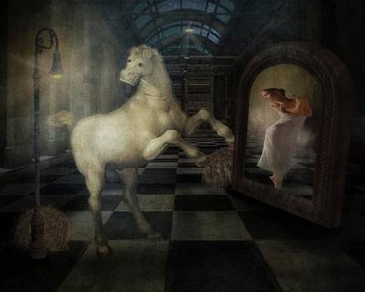 Dance Pony Dance Poster by Terry Fleckney