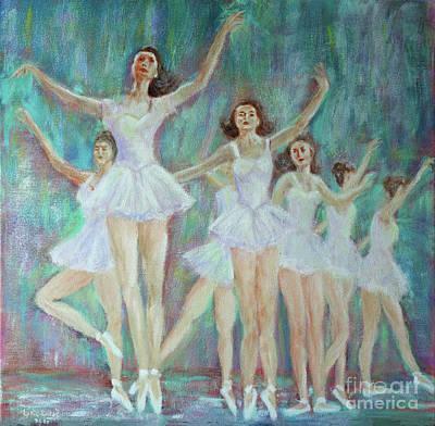 Dance Rehearsal Poster by Lyric Lucas