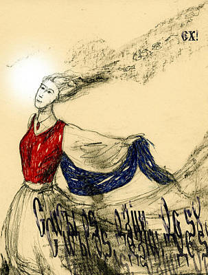 Dancer Lady Poster by Alexandra Cook