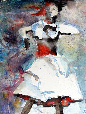 Dancer Poster by Mindy Newman