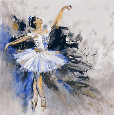 Dancers 279 3 Poster by Mawra Tahreem