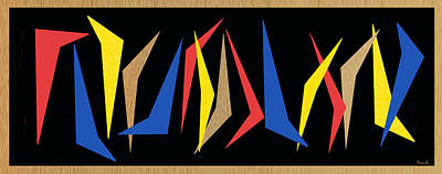 Dancing Abstractions Poster