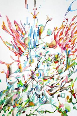 Dancing Crowd Poster by Fabrizio Cassetta