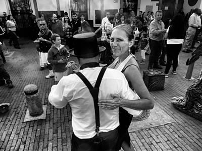 Dancing In The Street Poster by Daniel Gomez