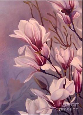 Dancing Magnolias  Poster