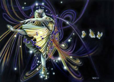 Dancing Stars Poster by Wayne Pruse