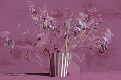 Dancing Tulips Poster by Maren Schram