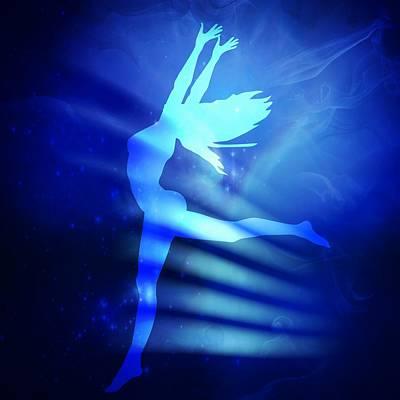Dancing Woman Poster