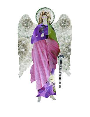 Dandelion Angel Poster