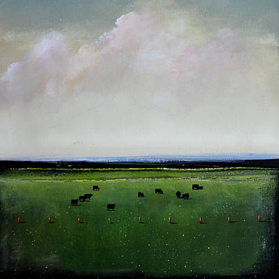 Dandelion Pastures Poster by Toni Grote