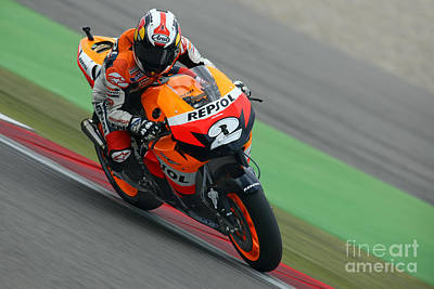 Dani Pedrosa Poster by Henk Meijer Photography