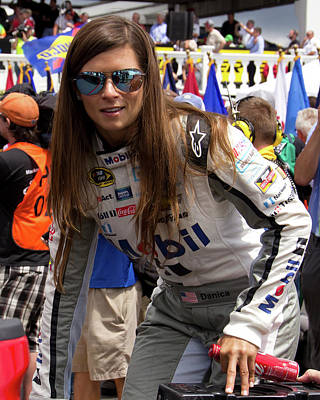 Danica Patrick - 2016 Poster by Mark A Brown