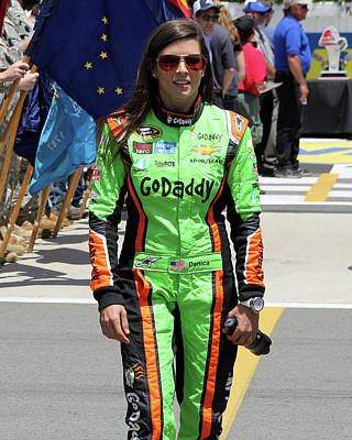 Danica Patrick Poster by Mark A Brown