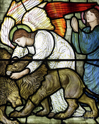 Daniel In The Lion's Den Poster