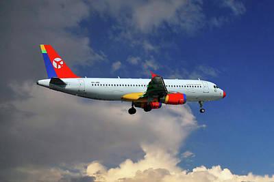 Danish Air Transport Airbus A320-233 Poster