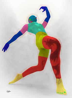 Danza Del Color Poster by Joaquin Abella