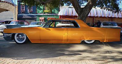 Dappled Cadillac Poster