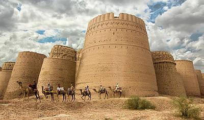 Darawar Fort Bahawalpur Punjab Pakistan Poster by Tahsin Shah