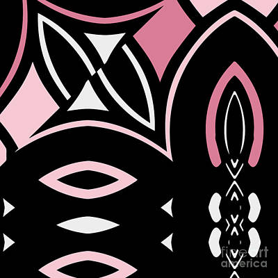 Daring Deco Iv Poster by Mindy Sommers