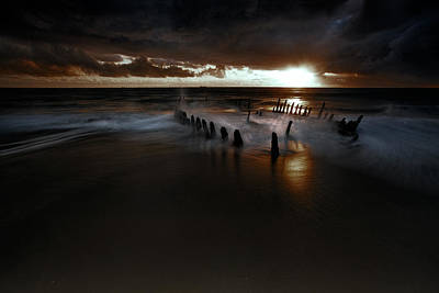 Dark And Moody Poster by Mel Brackstone