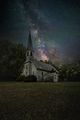 Poster featuring the photograph Dark Enchantment  by Aaron J Groen