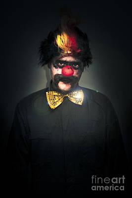 Dark Foreboding Clown Poster