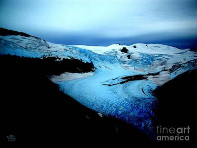 Dark Glacier Poster