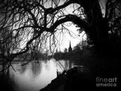 Poster featuring the photograph Darkness Looms Over The Avon by Sue Melvin