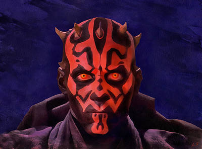 Darth Maul Dark Lord Of The Sith Poster
