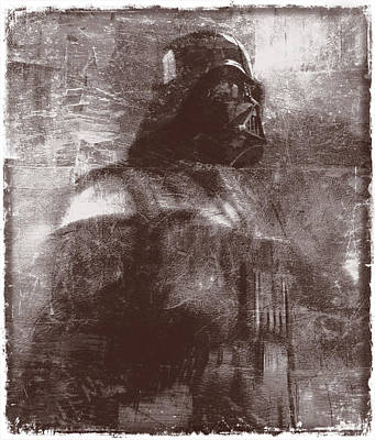Darth Vader Abstract Xiii Poster by Aurelio Zucco