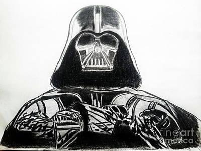 Darth Vader Rogue One - Original Poster by Scott D Van Osdol
