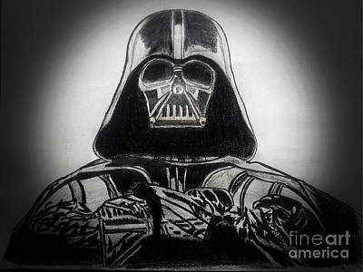 Darth Vader Rogue One - Spotlight Poster by Scott D Van Osdol